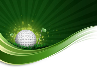 golf ball wave