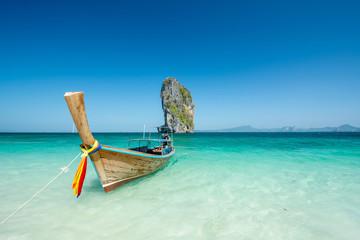 Beach landscape in krabhi Thailand