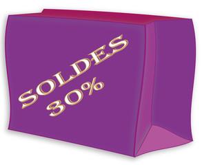 Sac shopping soldes