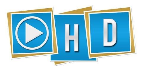 HD Blue Blocks