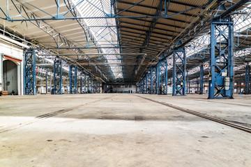 DDR Fabrikhalle