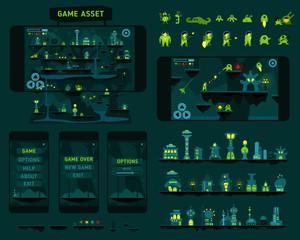 Fantastic adventures game asset