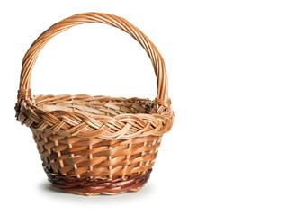 Basket wattled from rods