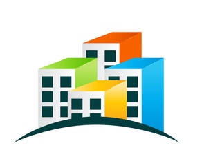Houses Logo Vector Illustration