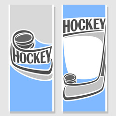 Background images for text on the subject of hockey