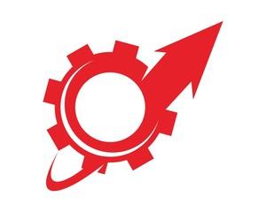 gear up logo design