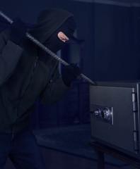 Safety-box theft