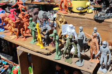 Figurines en plastiques