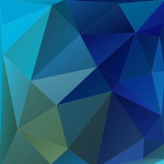Abstract background with light and dark blue triangles.