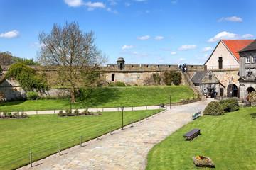 Park Burg Bad Bentheim mit Wehranlage