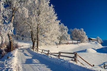 Kaszuby zimą