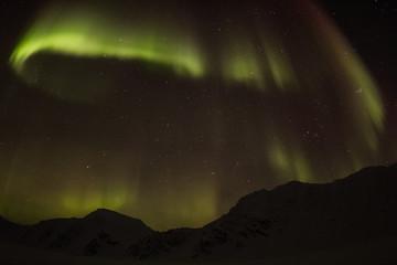 Arctic winter in south Spitsbergen