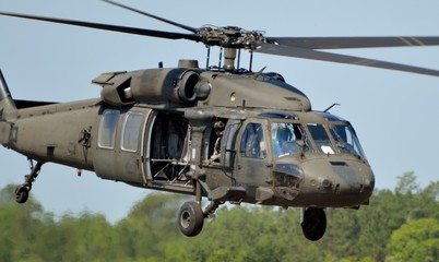 Wall Mural - UH-60 Blackhawk Helicopter