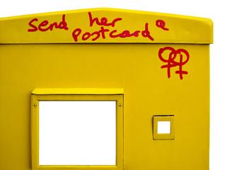 send her a postcard