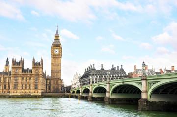 Photo sur Plexiglas Londres LONDON, UK, 29 MARCH, 2015: Big Ben and Houses of Parliament