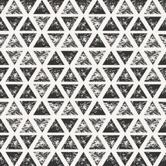 Abstract Triangular Shapes Seamless Pattern