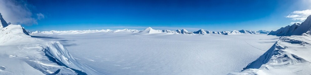 Arctic winter in south Spitsbergen