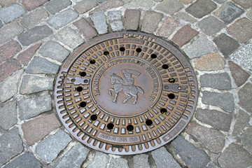 Gullideckel Schwerin