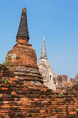 Wat Phrasisanpetch in the Ayutthaya Historical Park, Ayutthaya,
