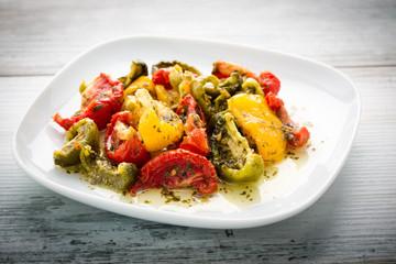Halbetrockete Tomaten - half dried tomatoes