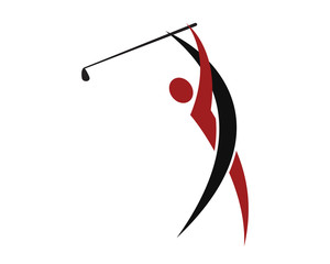 Golf Swing Logo