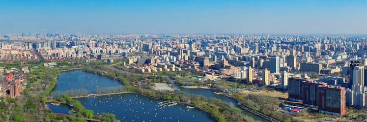 Fototapete - Beijing aerial view