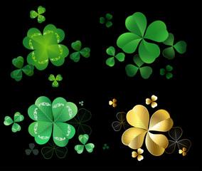 Set of clover