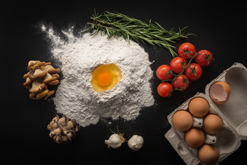 Health food, cooking concept