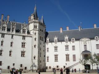 Fotomurales - Château des ducs de Bretagne à Nantes.