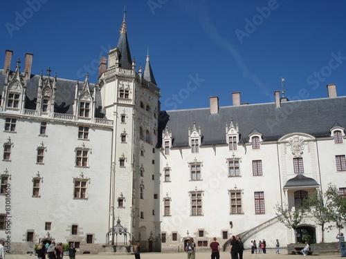 Wall mural Château des ducs de Bretagne à Nantes.