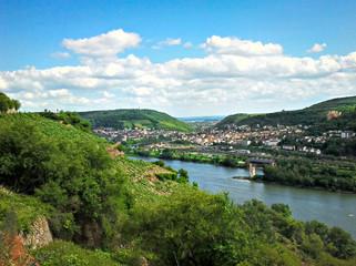 Blick auf den Rhein im Mittelrheintal