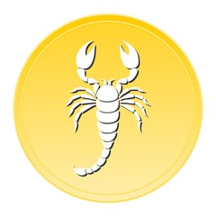 Scorpion Gold Icon