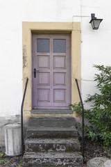 alte Haustür Eingang