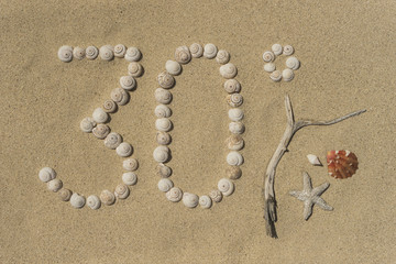 Strandurlaub 30°