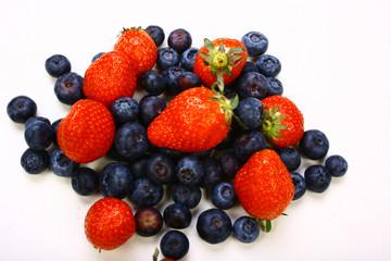 Erdbeeren, Blaubeeren