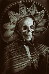 Mexican Bandit Skeleton 8