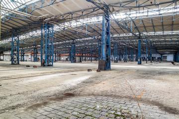 Alte DDR Lagerhalle Fabrik