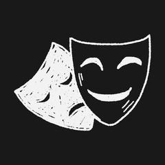 doodle mask