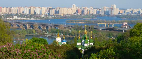 Wonderful panorama of the city.