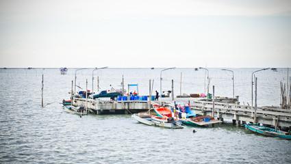 Thai fishing pier
