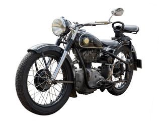 In de dag Fiets altes antikes oldtimer Motorrad, vintage bike
