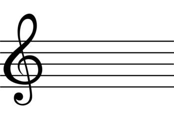 Music note symbols vector eps 10