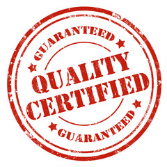 Quality Certified-stamp