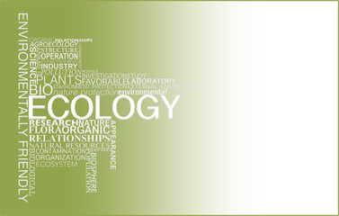 Ecology. Concept.
