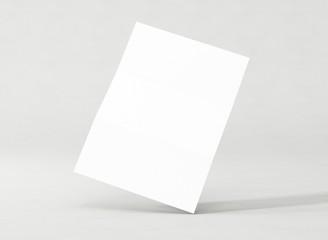 Briefpapier Vorlage weiss
