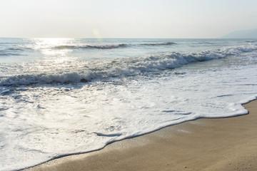 Landscape tropical ocean beach