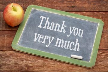 Thank you very much on blackboard