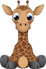 Funny little giraffe
