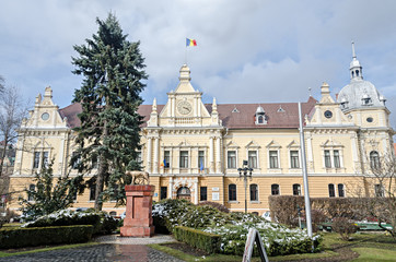 The City Hall of Brasov City, Romania (Primaria Brasov).