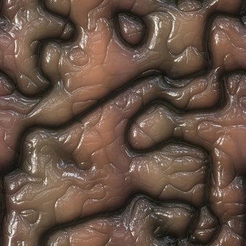 Organics meat seamless generated texture